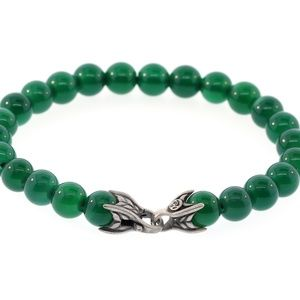DAVID YURMAN Men's Green Onyx Spiritual Bead Brace